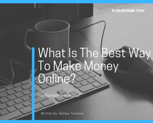 what is the best way to make money online