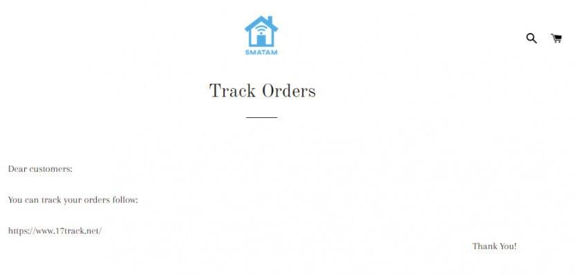 Tracking method Smatam